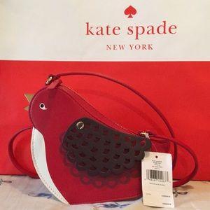 NWT Kate Spade bird crossbody ooh la la